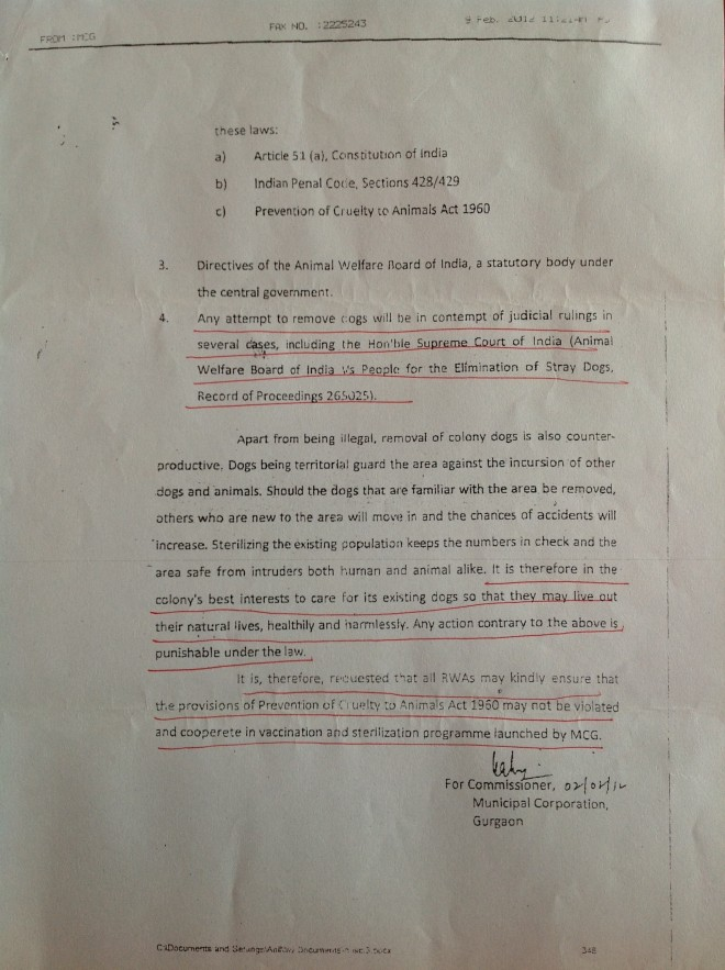 Gurgaon-Municipal-Corporation-Directive-regarding-pet-dogs-and-stray-dogs_2012_Page 3