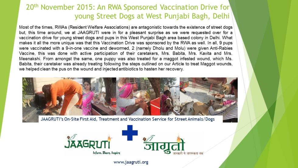 November 20 2015_Arihant Nagar Vaccination Drive